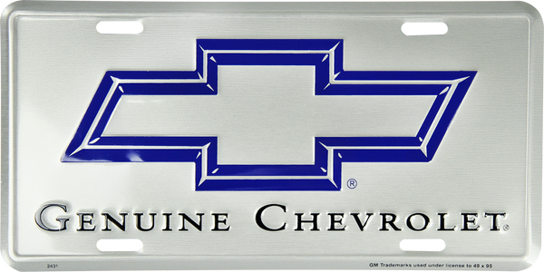 2431 - Genuine Chevrolet (Painted Silver)