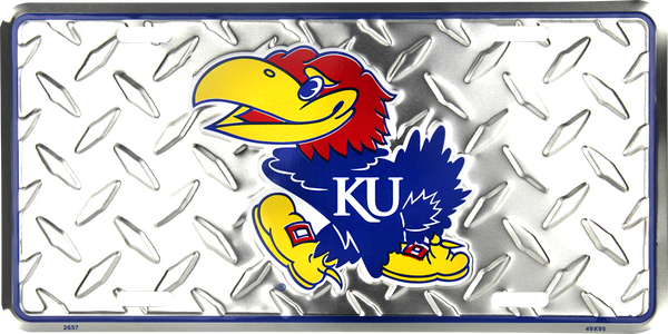 2657 - Kansas Jayhawks Diamond