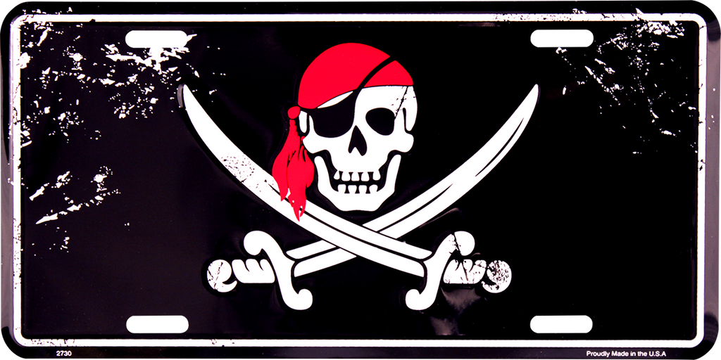 2730 - Pirate with Crossing Swords