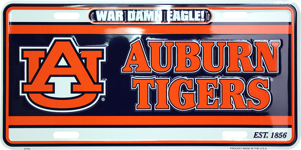 2745 - War Damn Eagle! Auburn Tigers