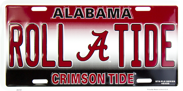2747 - Alabama Crimson Tide ROLL TIDE  ST8-PL8