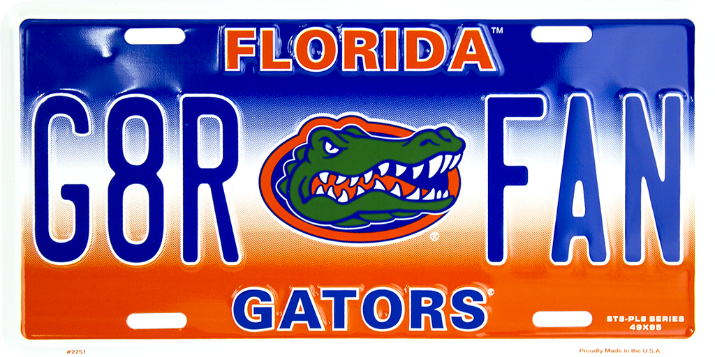2751 - Florida Gators G8R FAN ST8-PL8