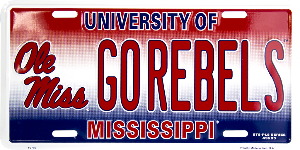 2765 - Ole Miss Rebels GO REBELS ST8-PL8