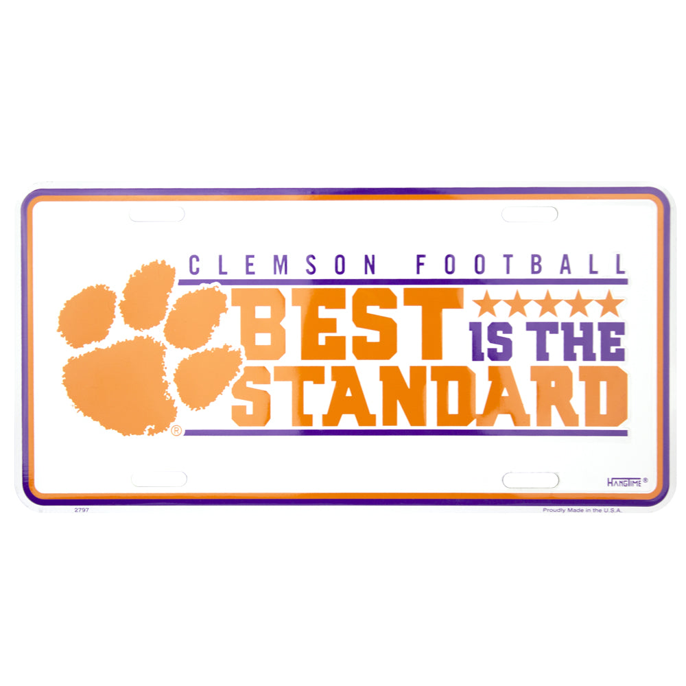 2797 - Clemson Football Best is the Standard