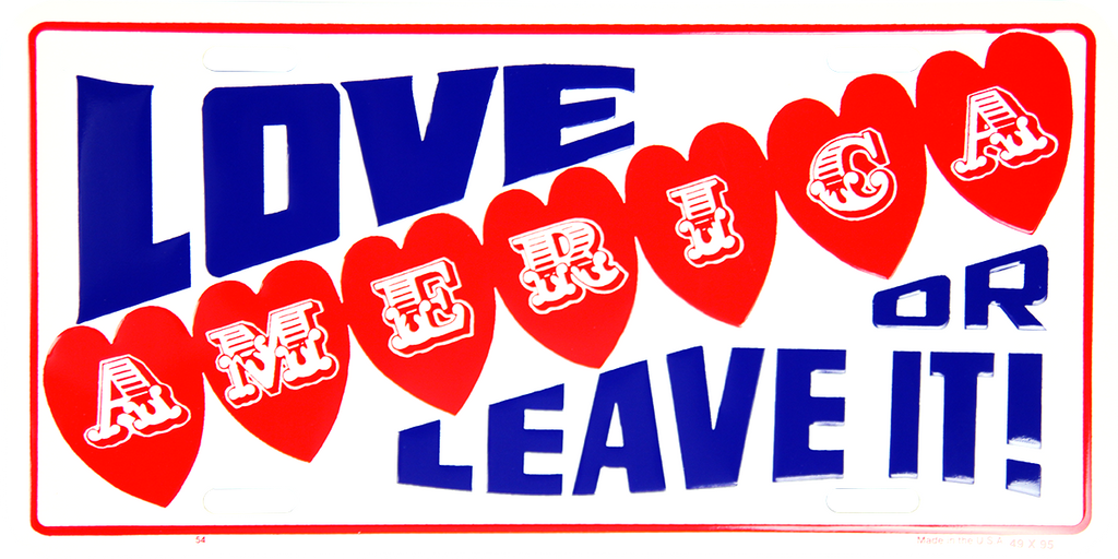 54 - American Love it or Leave it