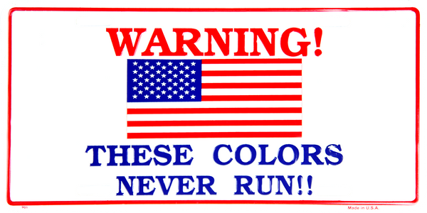 901 - Warning! These Colors Never Run