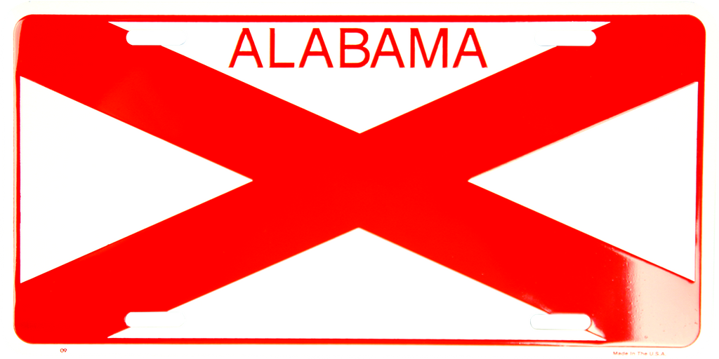 9 - Alabama State Flag
