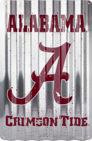 COR32001- Alabama Crimson Tide Corrugated Signs