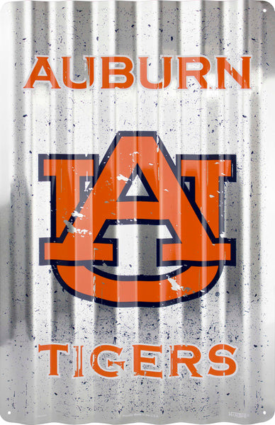 COR32004- Auburn Tigers Corrugated Signs