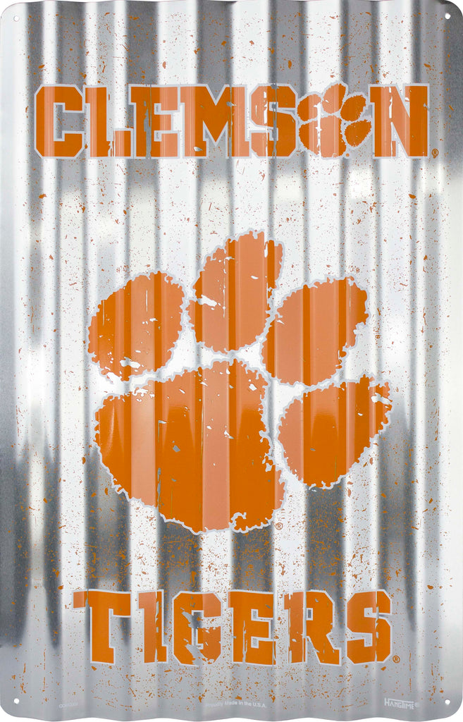 COR32006- Clemson Tigers Corrugated Signs