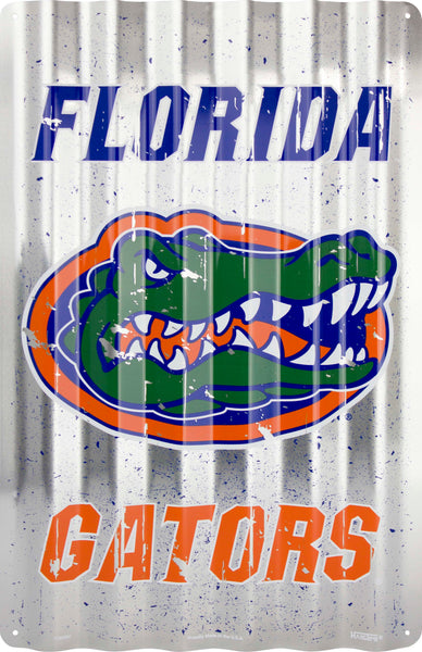 COR32007- Florida Gators Corrugated Signs