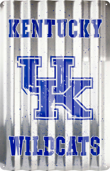 COR32012- Kentucky Wildcats Corrugated Signs