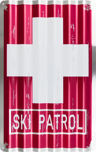 COR32032 - Ski Patrol Corrugated Signs