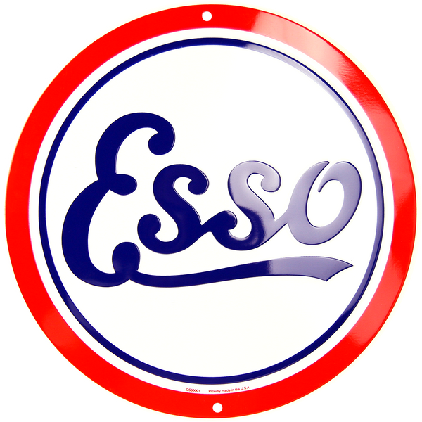CS60001 - Esso Circle Sign