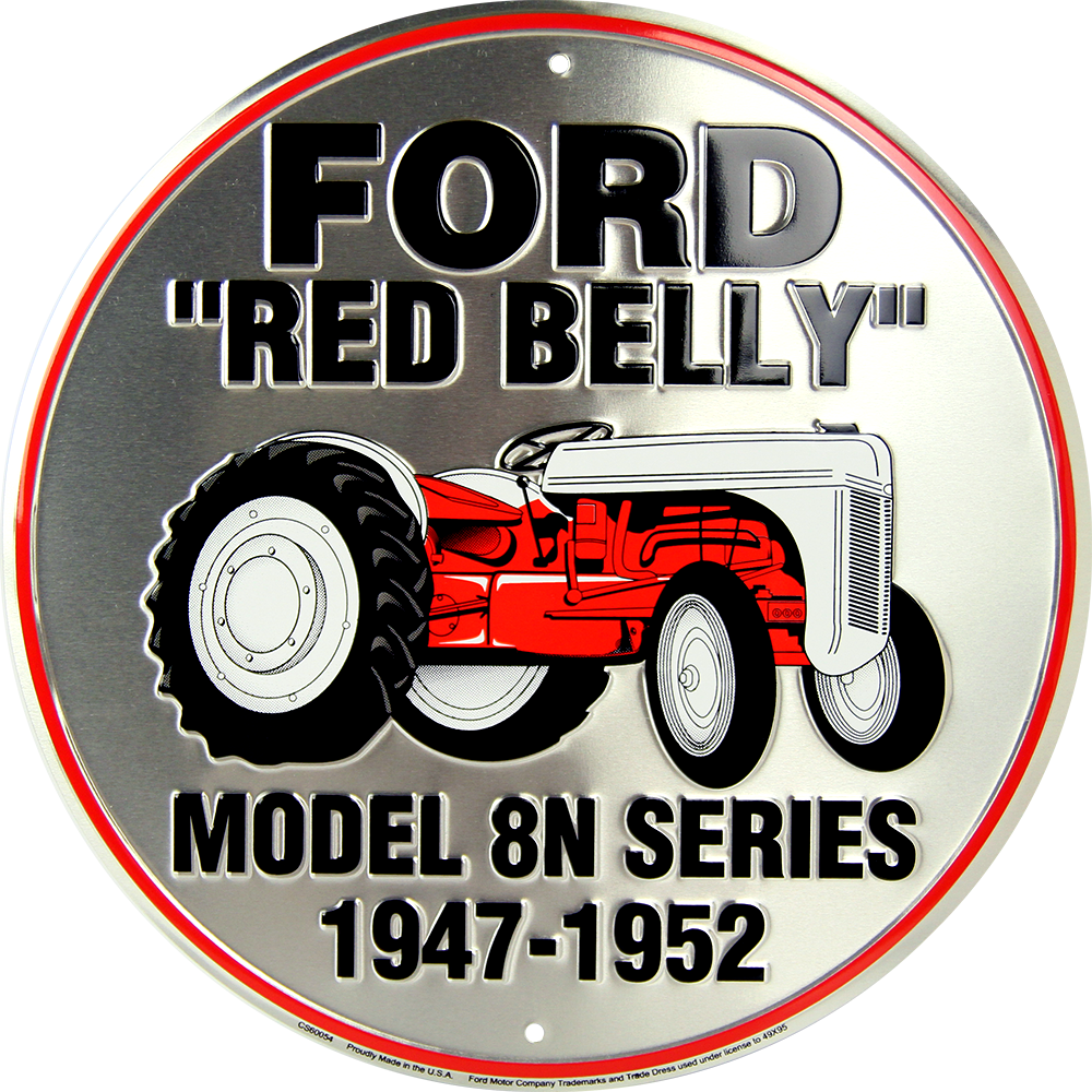 CS60054 - Ford Red Belly Model 8N Series