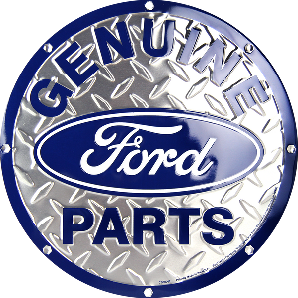 CS60062 - Genuine Ford Parts Circle Sign