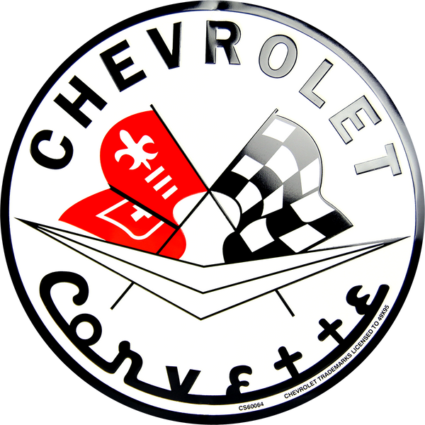 CS60064 - Chevrolet Corvette Circle Sign