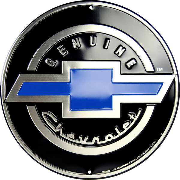 CS60068 - Genuine Chevrolet Circle Sign