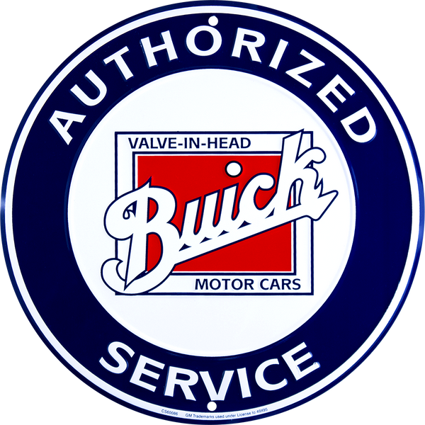 CS60086 - Buick Authorized Service Circle Sign