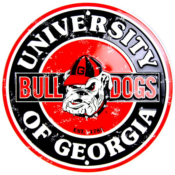 CS60092 - Georgia Bulldogs Circle Sign
