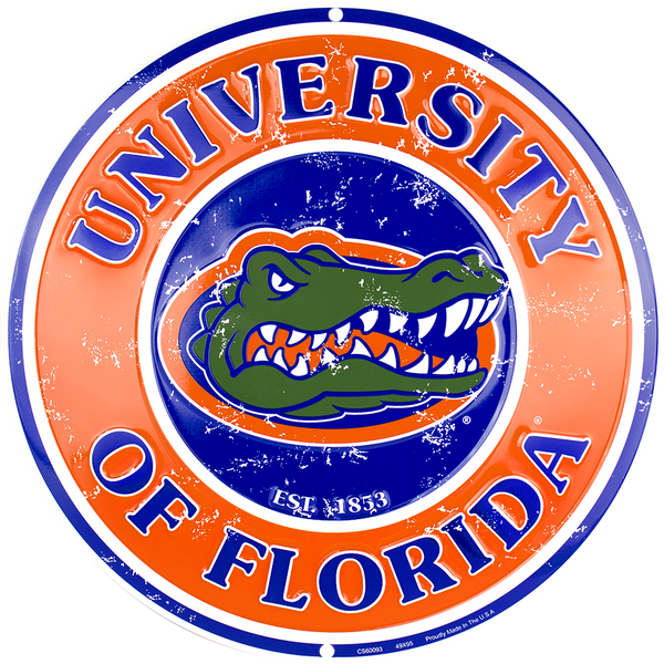 CS60093 - Florida Gators Circle Sign