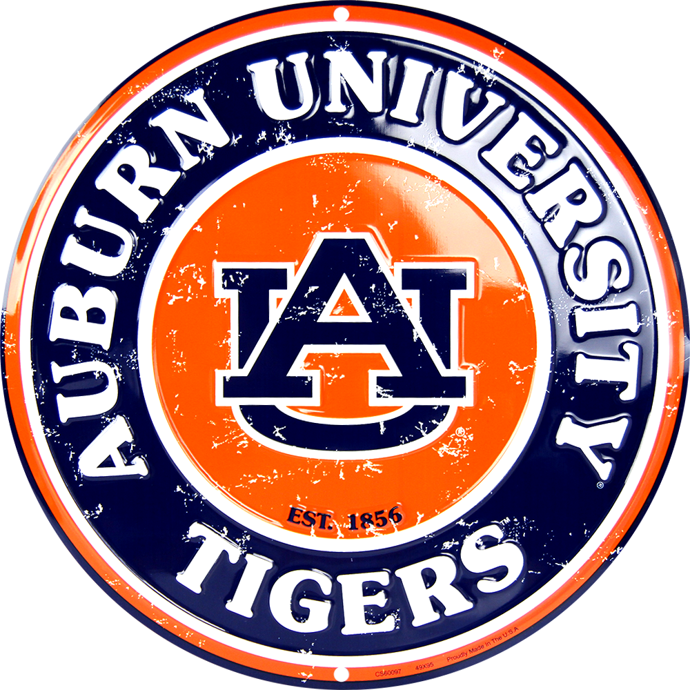 CS60097 - Auburn Tigers Circle Sign