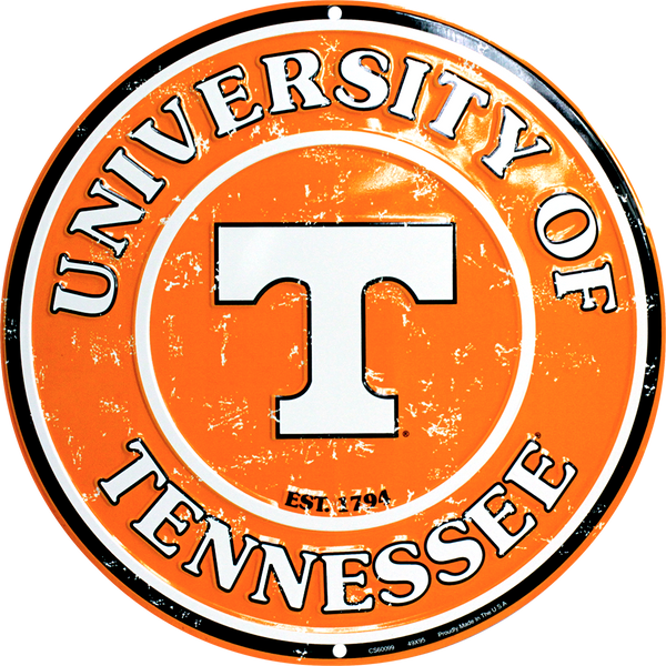 CS60099 - Tennessee Volunteers Circle Sign