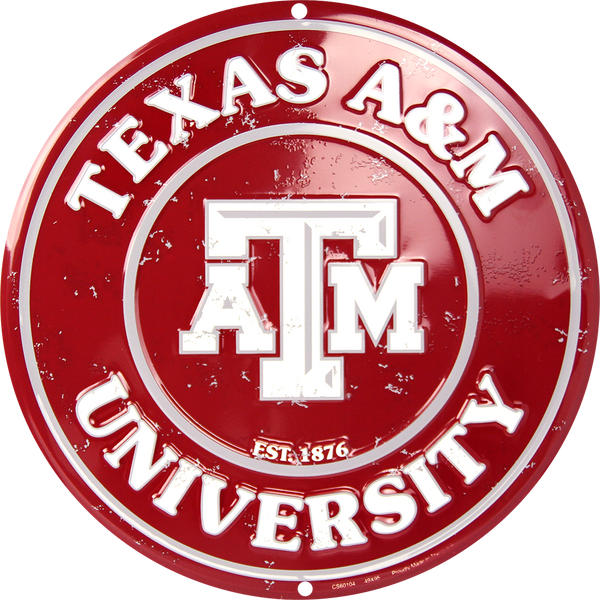 CS60104 - Texas A&M Aggies Circle Sign