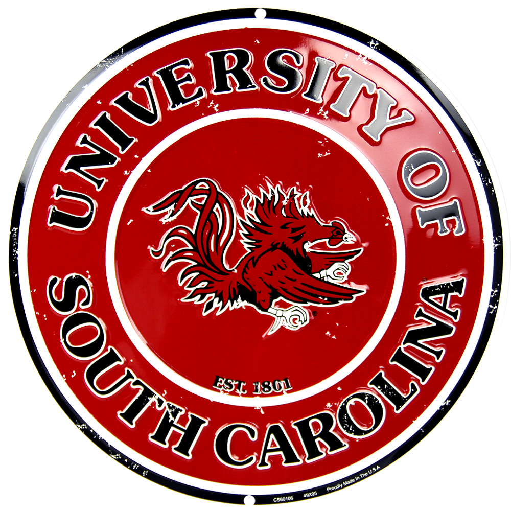 CS60106 - South Carolina Gamecocks Circle Sign