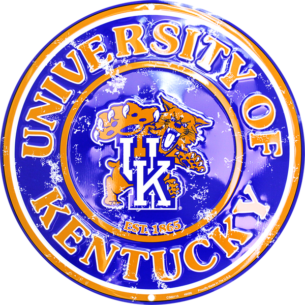 CS60113 - Kentucky Wildcats Circle Sign