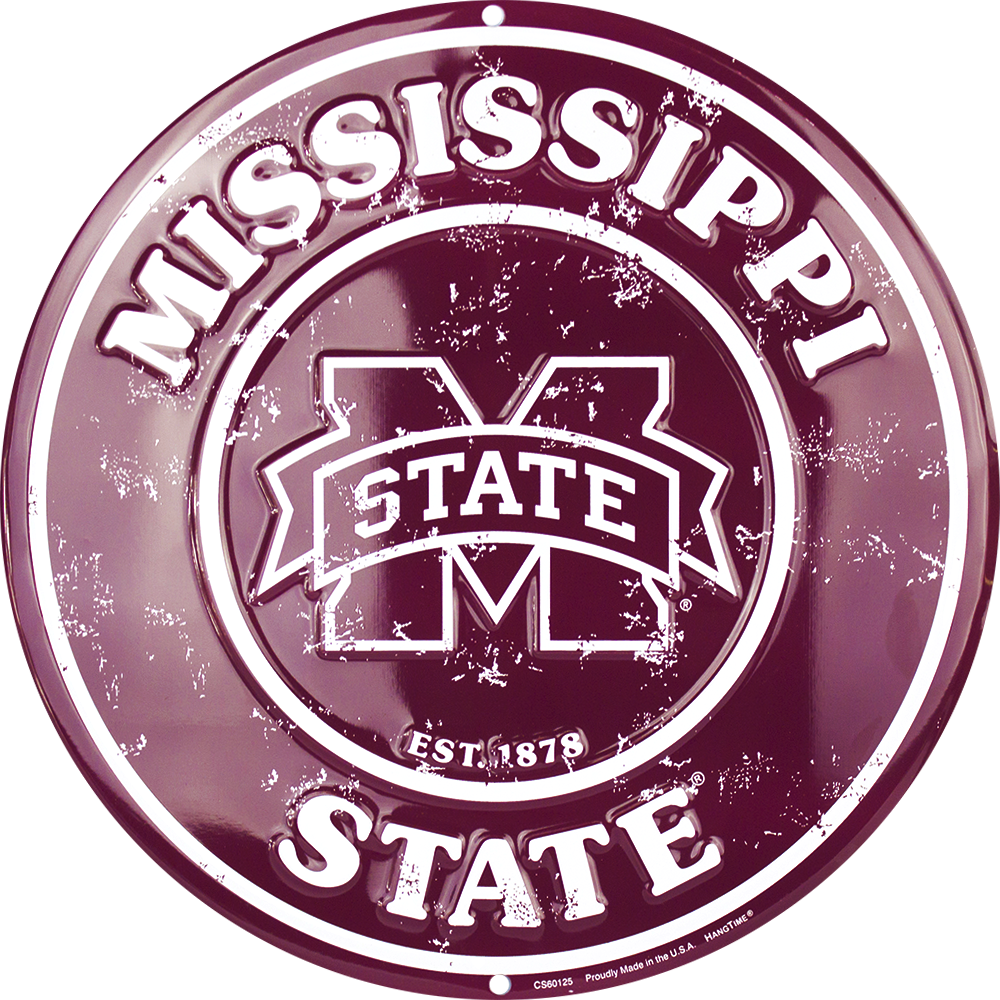 CS60125 - Mississippi State Bulldogs Circle Signs