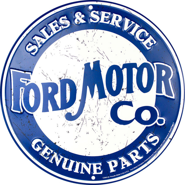 CS60128 - FORD MOTOR CO SALES & SERVICE