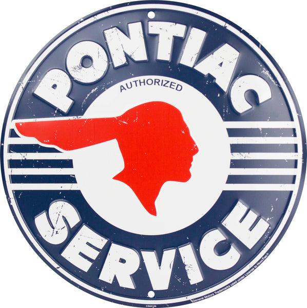 CS60129 - Pontiac Service Circle Sign