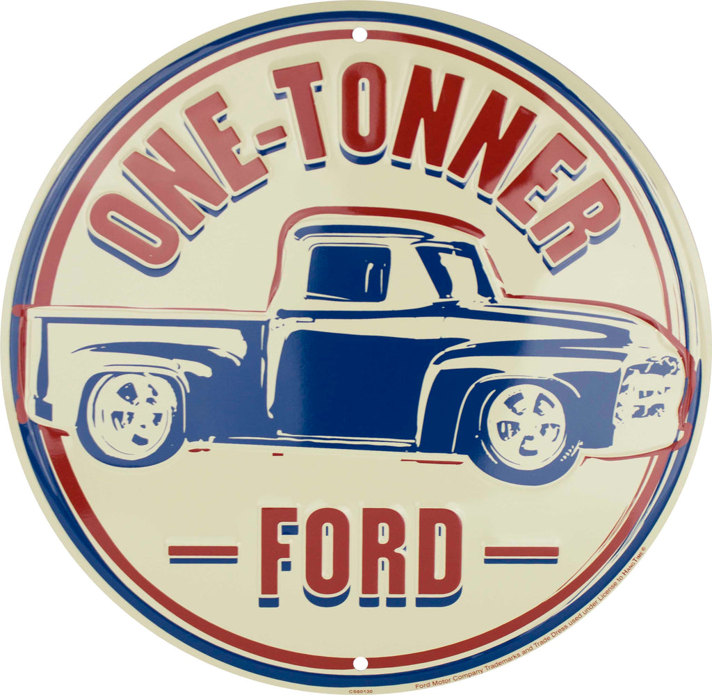 CS60130 - One-Tonner Ford Circle Sign