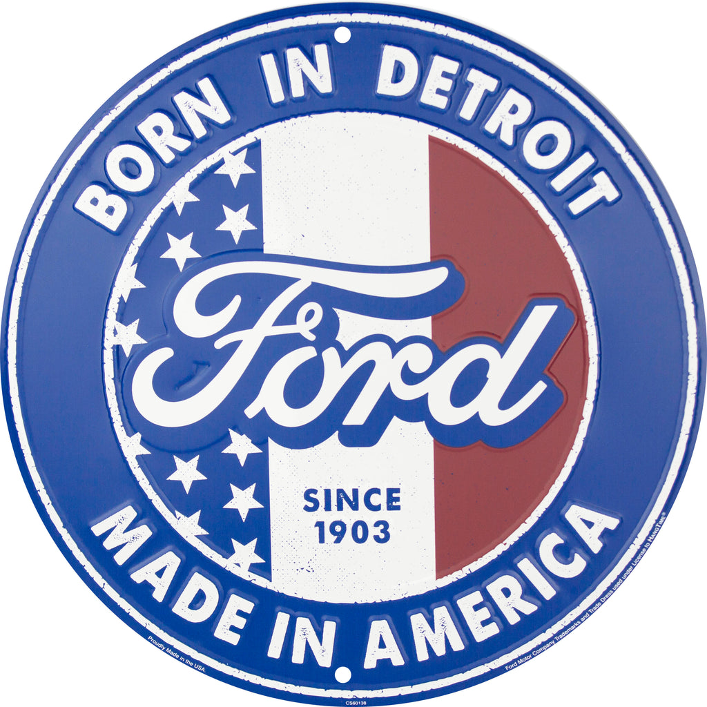 CS60138 - Ford Born in Detroit | Made In America