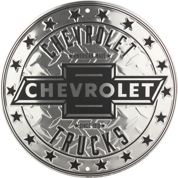 CS60139 - Chevrolet Trucks Circle Sign