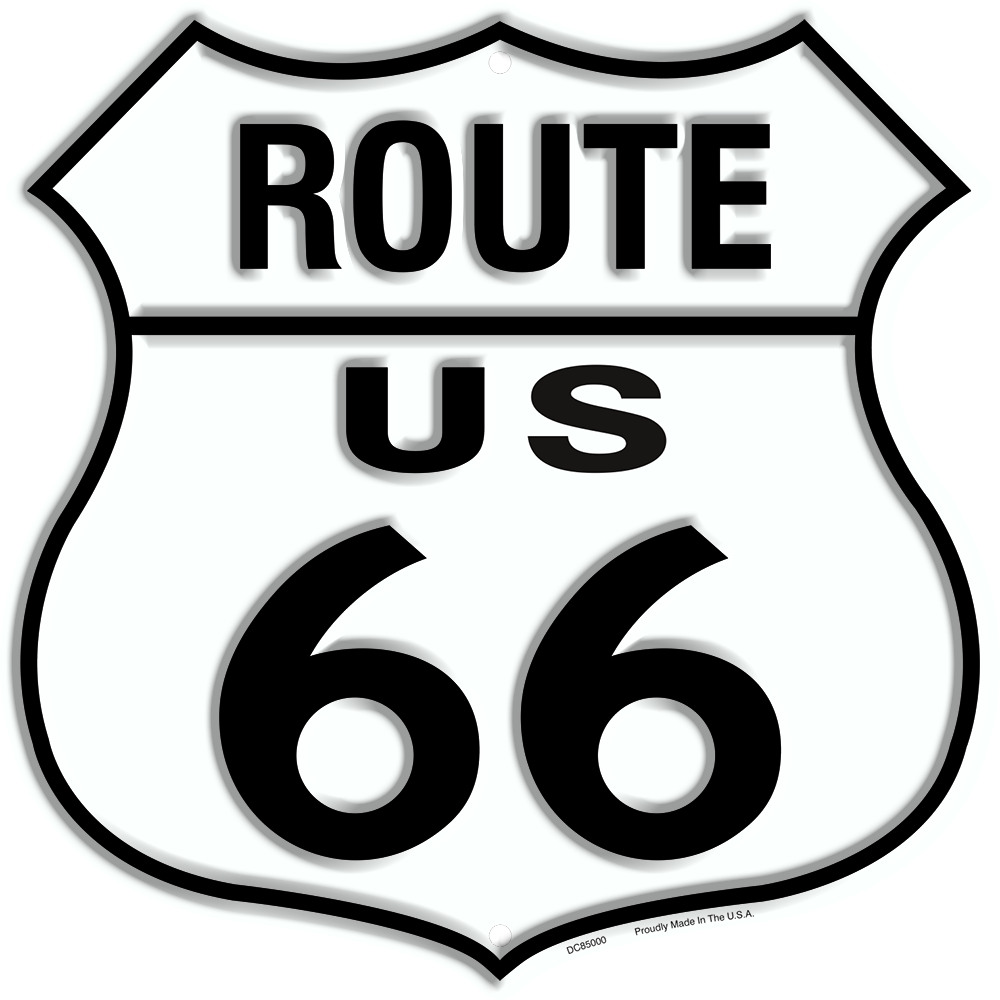 DC85000 - Route 66 Shield