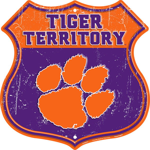 DC85037 - TIGER TERRITORY (CLEMSON)