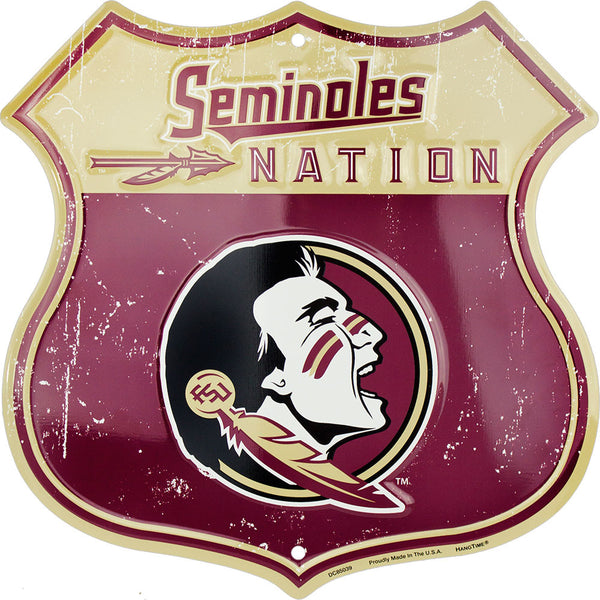 DC85039 - Seminoles Nation Shields (FLORIDA STATE)