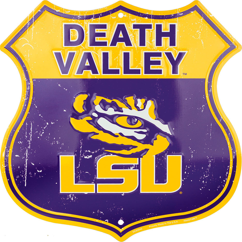 DC85040 - Death Valley Shield (LSU)
