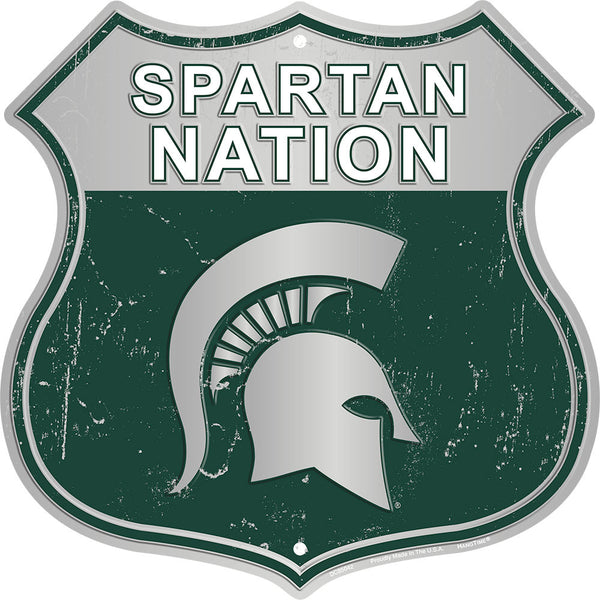 DC85042 - SPARTAN NATION (MICHIGAN STATE)