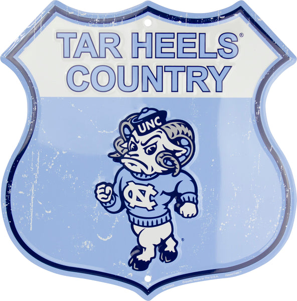 DC85053 - Tar Heels Country Shield