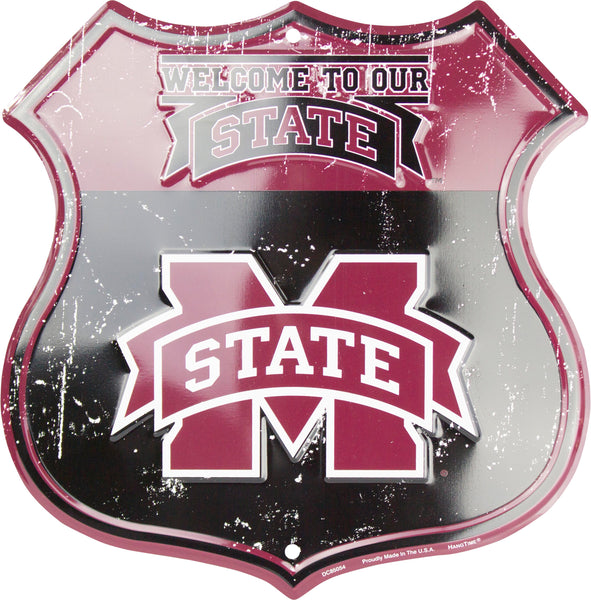 DC85054 - Welcome To Our State M State Shield