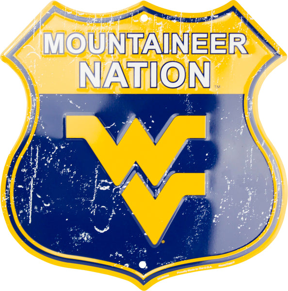 DC85055 - Mountaineer Nation Shield