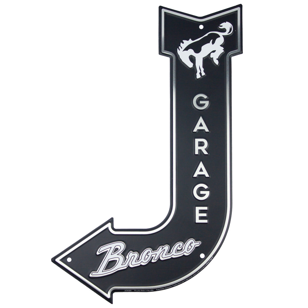DC85065 - Bronco Garage J Arrow Signs