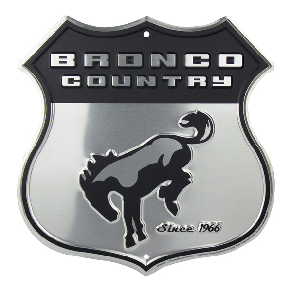 DC85066 - Bronco Country SHIELD