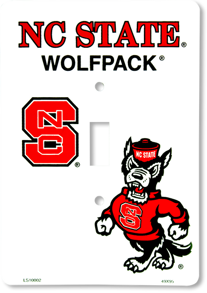 LS10002 - NC State Wolfpack Light Switch