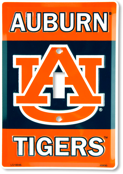 LS10046 - Auburn Tigers Light Switch