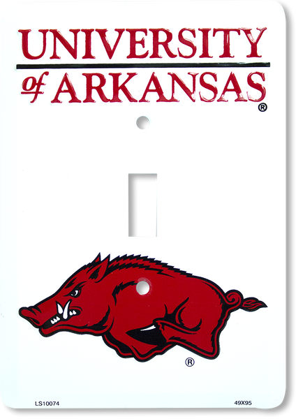 LS10074 - Arkansas Razorbacks Light Switch