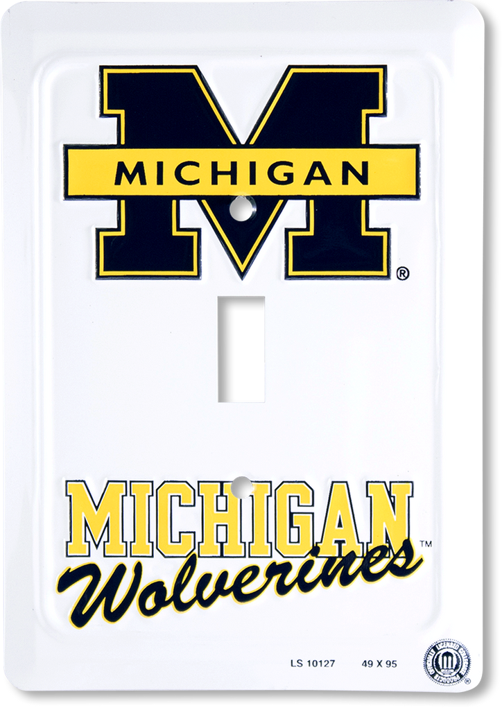 LS10127 - Michigan Wolverines Light Switch